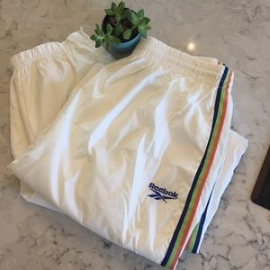 Vintage 90s Reebok warm up track suit joggers